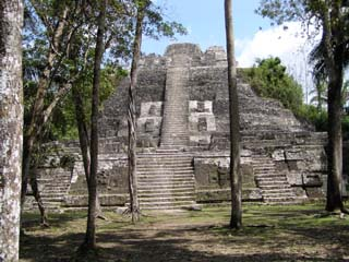Lamanai Archaeological Reserve Mayan Ruins